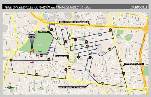Este domingo el tune up chevrolet coyoac n runmx for Viveros en el df