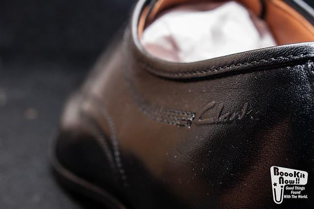 Clarks Active Air Black Mens Shoes