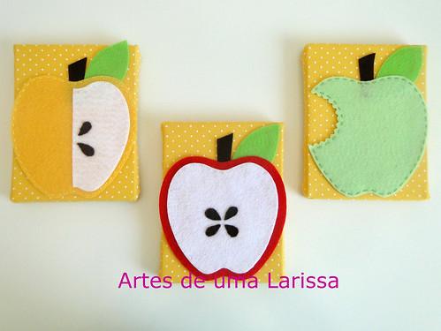 Maçãs by Artes de uma Larissa