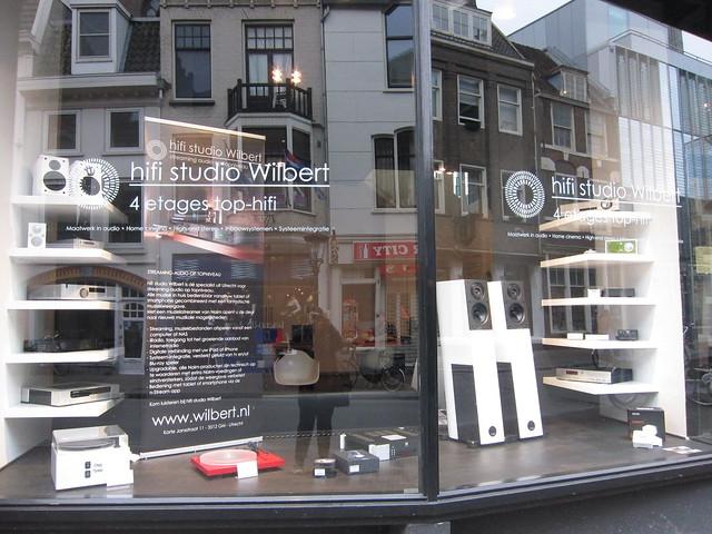 Utrecht stereo shop