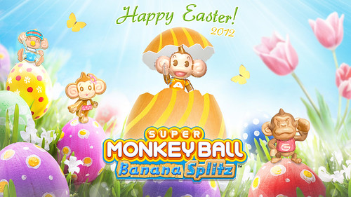 Super Monkey Ball Happy Easter 2012 - HD Resolution (1920×1080)