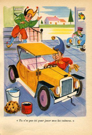 OUI-OUI et la voiture jaune, by Enid BLYTON -image-50-150