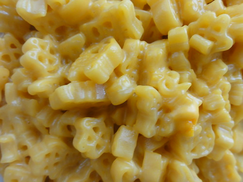 SpongeBob macaroni close up