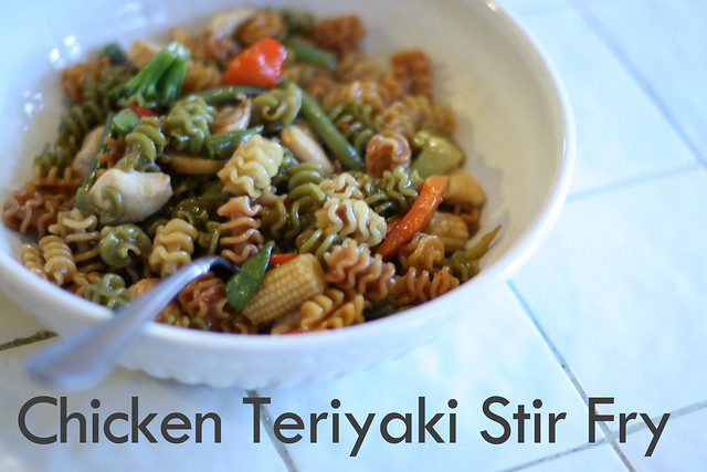 Chicken Teriyaki Stir Fry