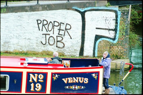 """Proper Job"" on the canal"