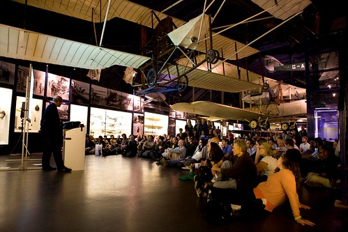 Lecturing Under a Plane: Raymond Tallis at the Science Museum Lates, March 2012