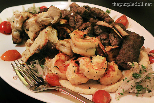 Iranian Mixed Grill