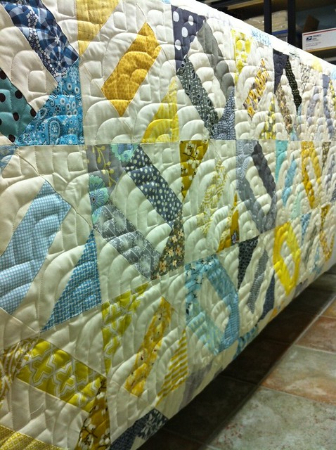 Angela's cracker scrap quilt