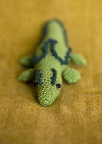amigurumi crocodile