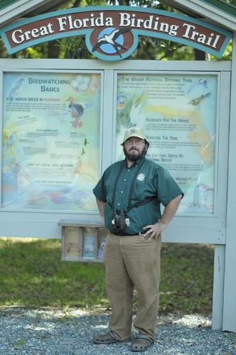 Andy Wraithmell by GFBWT kiosk
