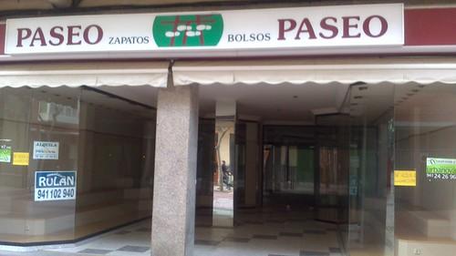Local cerrado Calvo Sotelo Logroño