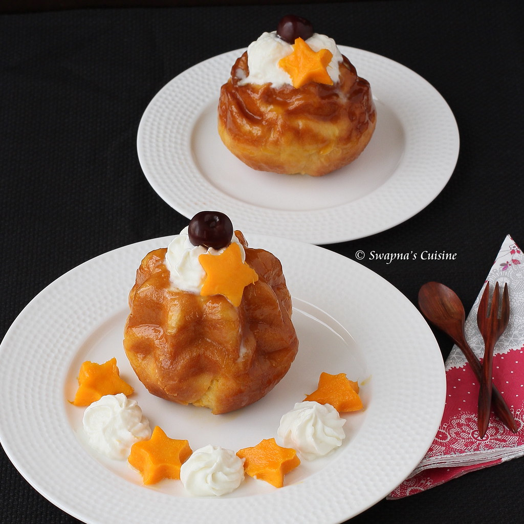 Peach Flavored Savarin