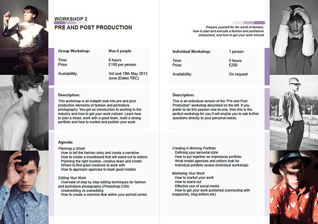 Workshop 2: Pre and Post Production