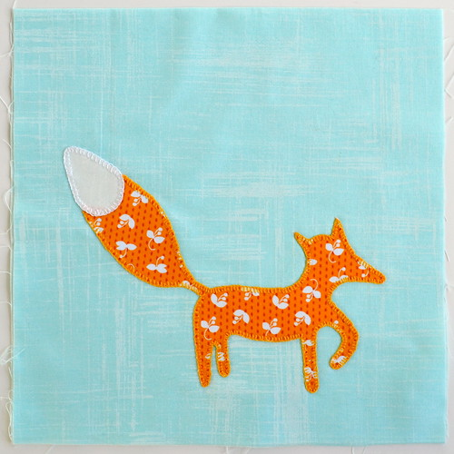 Little Fox applique project