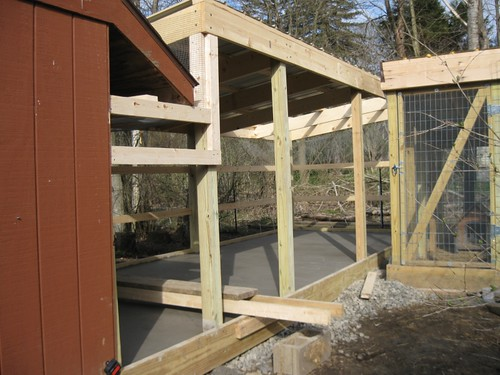 New Chicken Run in Progress by elizabeth's*whimsies