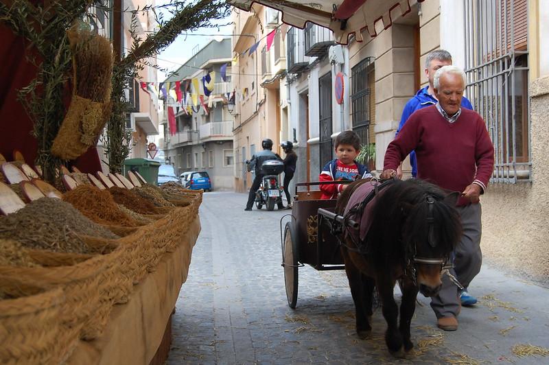 carreta y pony