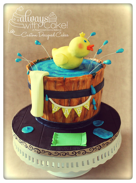 rubber duck baby shower cake flickr photo sharing