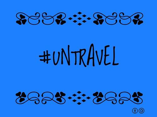 Buzzword Bingo: #Untravel