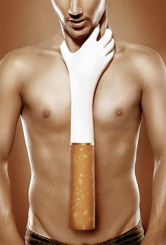 guy with cigarette