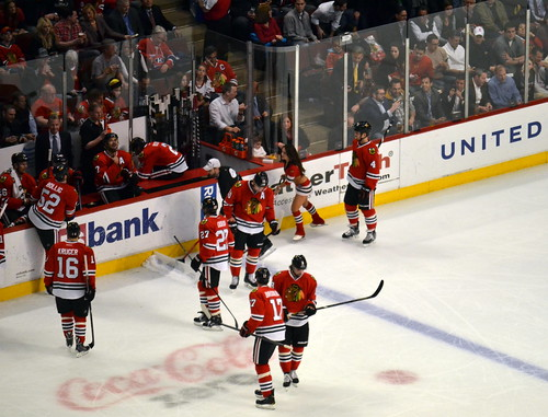 Chicago Blackhawks vs Montreal Canadiens 04-09-