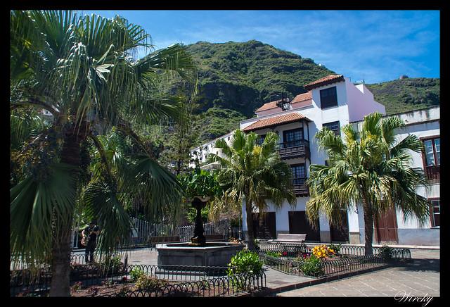 Garachico roque piscinas naturales caleton - Plaza Juan González de la Torre
