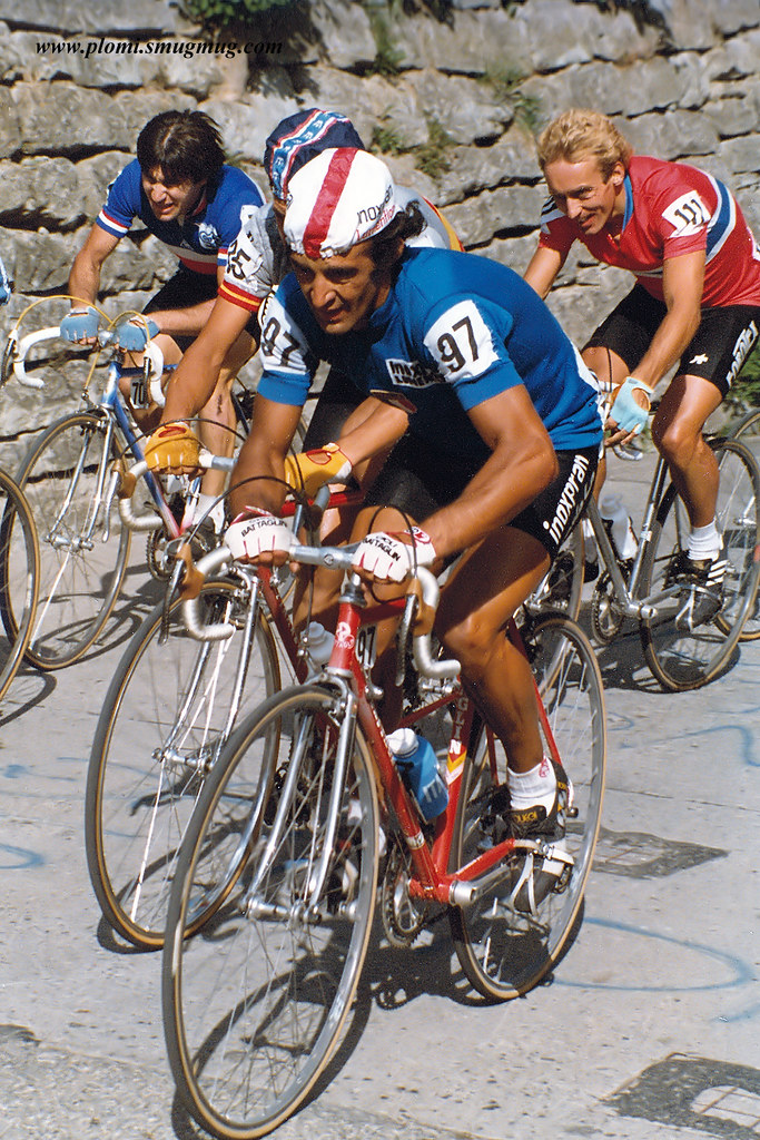 "Luciano Loro - Altenrhein during WM 1983 on 4.9.1983 (thank's Gerhard - ""https://plomi.smugmug.com/Sports/Historic-Cycling/"")"