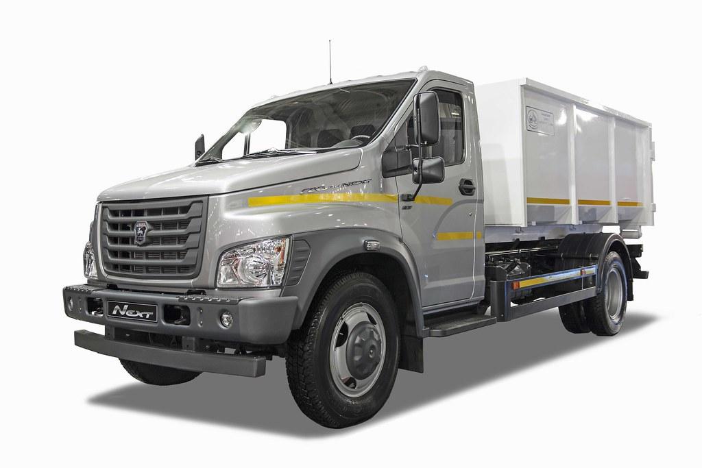 Мусоровоз на шасси грузового автомобиля «ГАЗон NEXT»