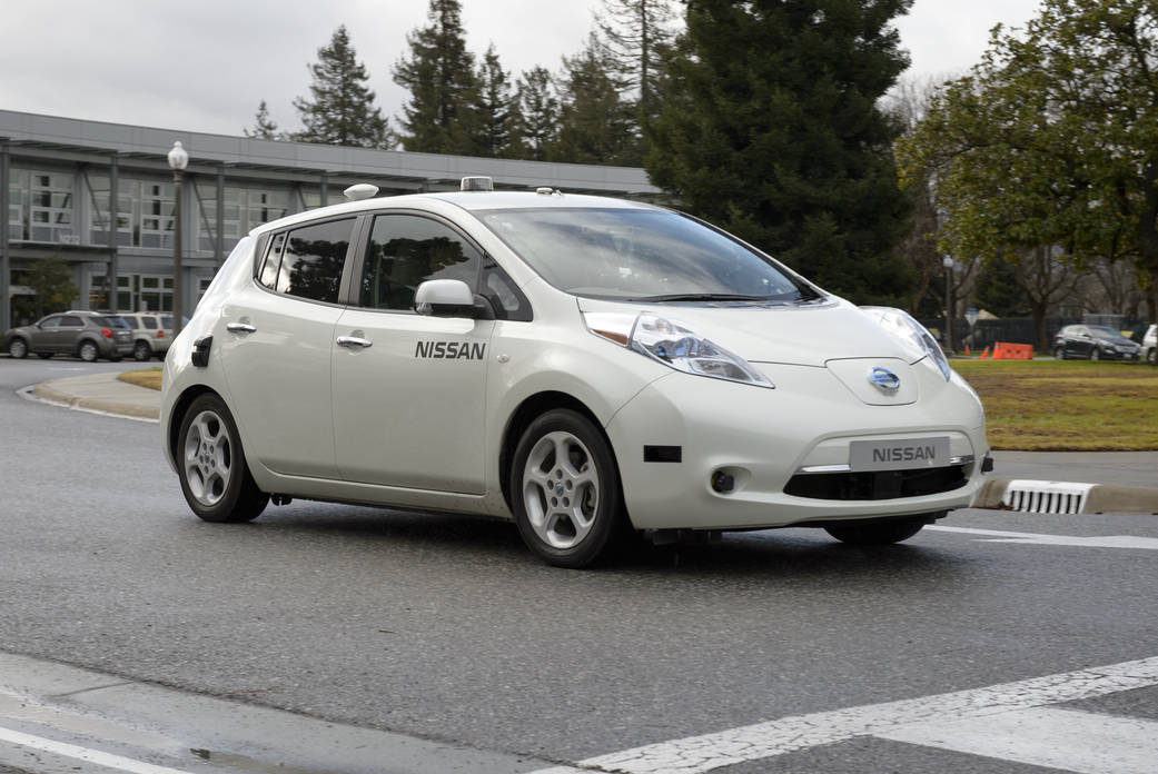 Nissan Test Drives NASA Space Technology for Use in Driverless Cars