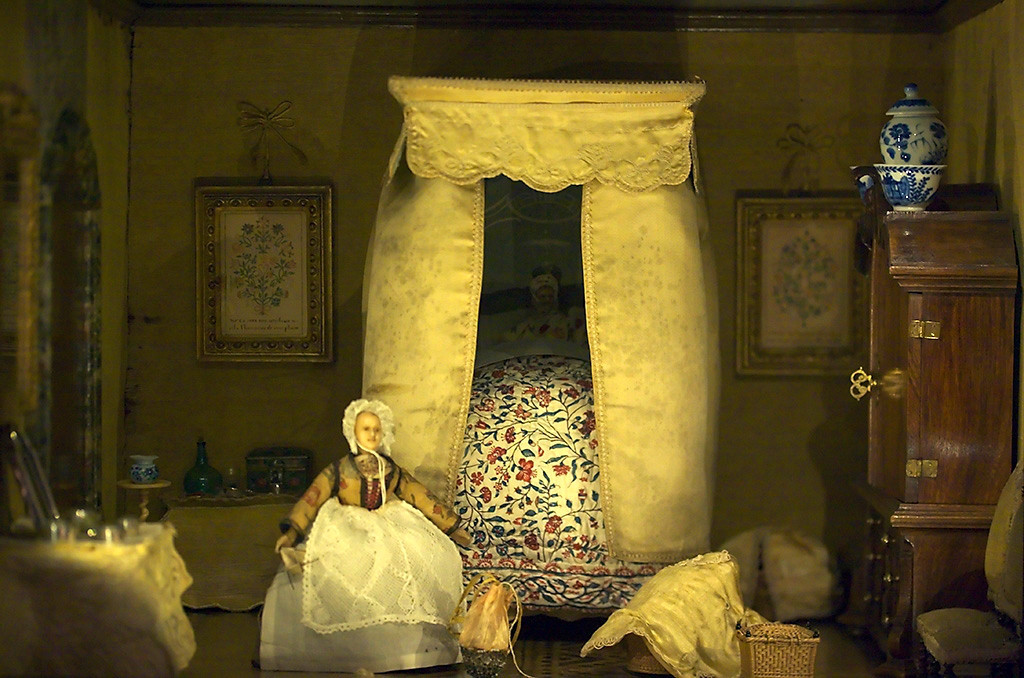 Dollhouse of Sara Rothé (1699-1751, Amsterdam) now displayed in the Frans Hals Museum in Haarlem