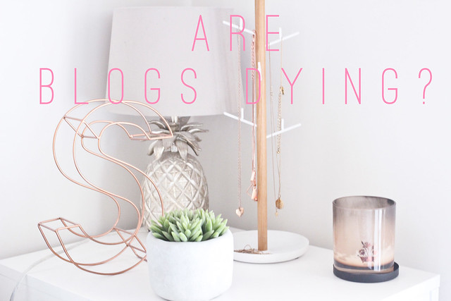 are blogs dying