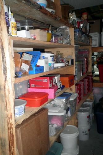 beading shelves