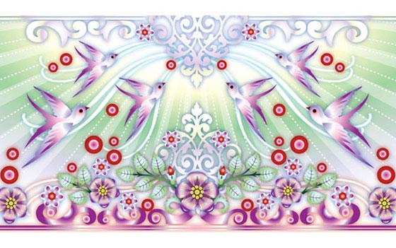 Catalina Estrada, Illustrations for Paulo Coelho's Joy Diary for 2009