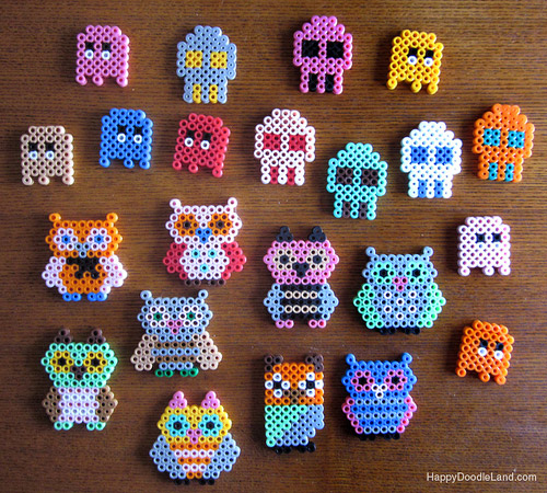 free beados templates - my owl barn perler beads owls
