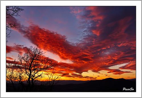 naturaleza nature atardecer natura puestadesol cielos navarra pacoso crepúsculovespertino cielosdenavarra