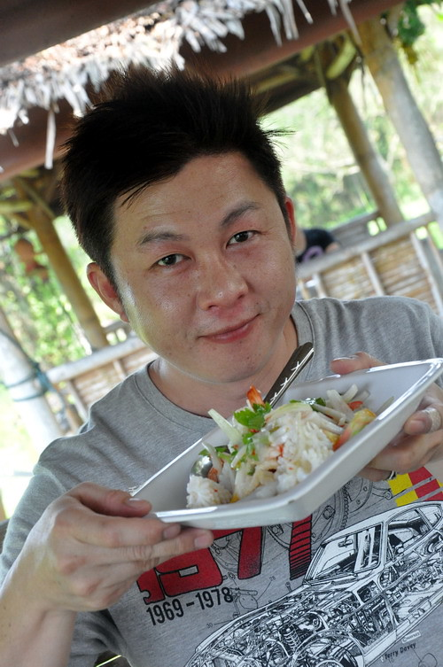 Sunny Yaw of Big Boys Oven at Ma am Restaurant Koh Samui