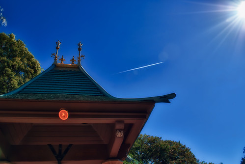 Sunflare, Jet Streams And Wishing Wells by hbmike2000
