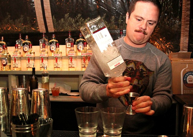 Beefeater Gin's Erick Castro at the Eveleigh by Caroline on Crack