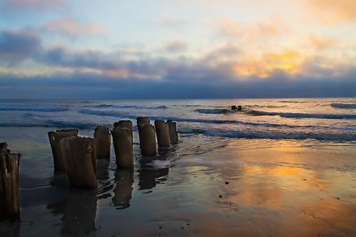 ocean beach beauty sunrise sand north shore carolina wilmington