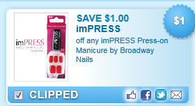 Impress Press-on Manicure By Broadway Nails Coupon
