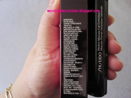 mascara ingredients