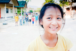 Girl at Children's Home