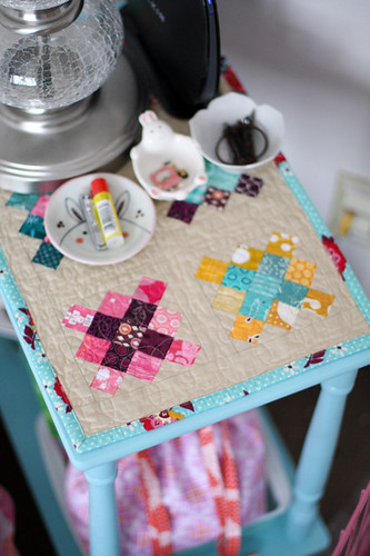 Granny Square Table Topper by jenib320