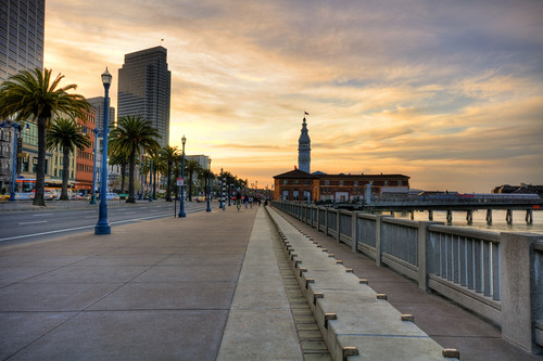 Embarcadero today (by: Curtis Fry, creative commons license)