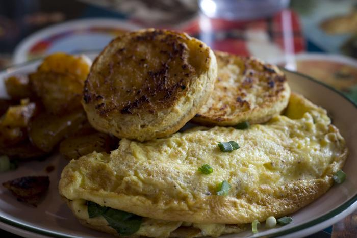 """""""St. Dames"""" vegetarian restaurant in Rainier Valley."""