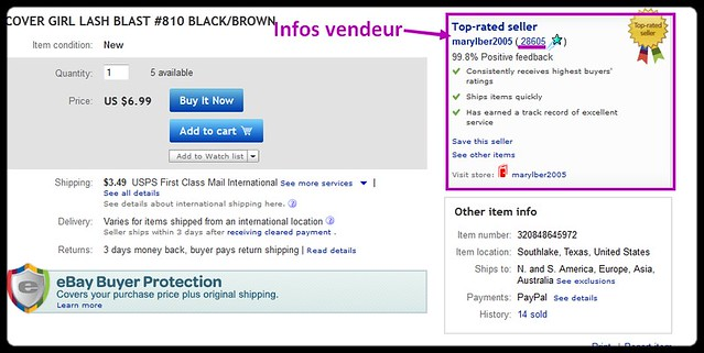 comment trouver un vendeur sur ebay