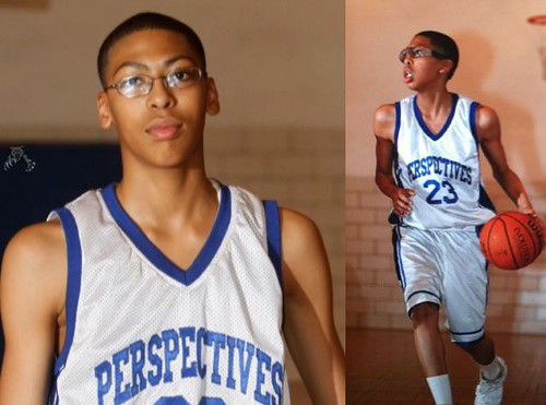 Anthony Davis BEFORE and AFTER the GROWTH SPURT LoOk ...
