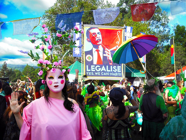 Yes We Canabis @ the Nimbin Mardi Grass
