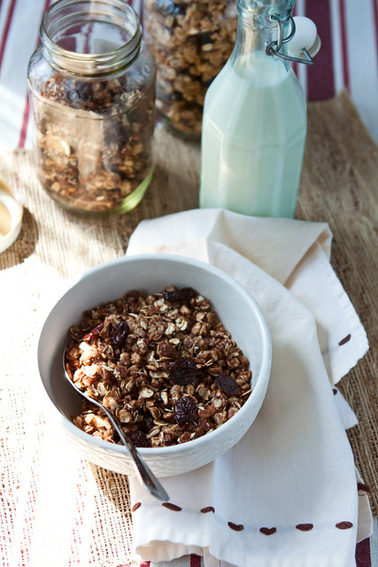 Crispy Chocolate Granola