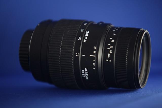 Sigma lens 70-300mm f4-5.6