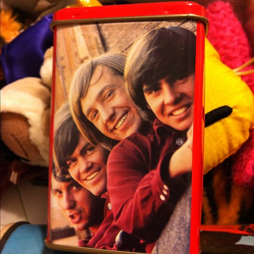 Monkees tin.